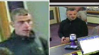Search: Police are looking for Allan Robertson (left) and Craig Munro.