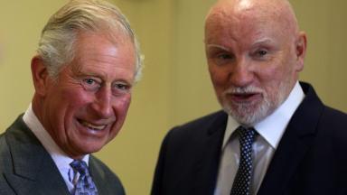 Hall: The Prince and Sir Tom Hunter opened the hall.