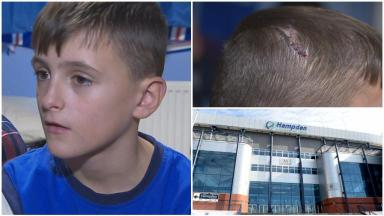 Old firm bottle attack