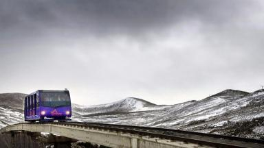 Cairngorm Mountain: Funicular run by Highlands and Islands Enterprise (file pic).