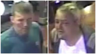 CCTV: Police hunting two men over city centre assault.