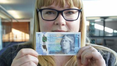 RBS first Scottish £5 banknote