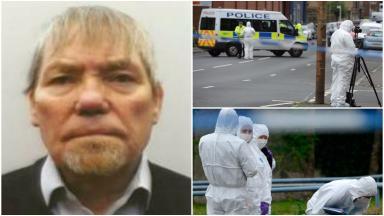 John Baker: Pensioner allegedly stabbed to death in east end of Glasgow.