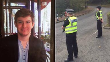 Edinburgh missing person Antoine Maury.