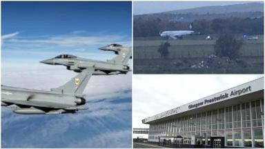 News Now: Prestwick plane drama
