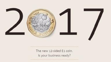 The 12-sided coin is looking to combat counterfeiters who have around 45 million counterfeit £1 coins currently in circulation.