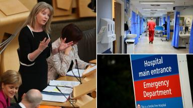 Strain: NHS recruitment has been hindered by uncertainty, says Shona Robison.
