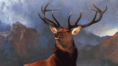 Iconic: The Monarch of the Glen painting.