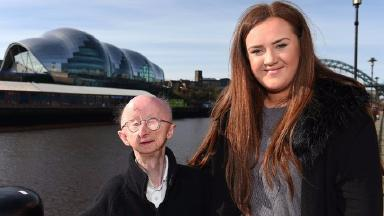 Ms Cutler raised £330,000 for Alan Barnes after he was attacked in the street