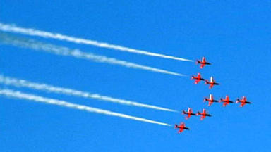 Confirmed: The Red Arrows will perform at Leuchars this year.