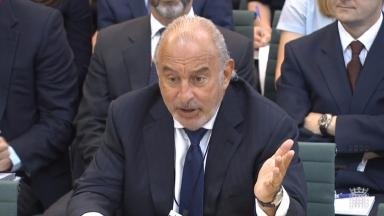 Warning notices have been sent to the retail tycoon over the pensions deficit