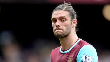 Andy Carroll has been recovering from injury.