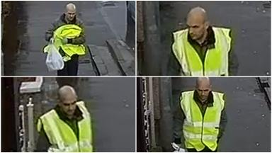 CCTV: Police release images of man as part of probe into robberies.