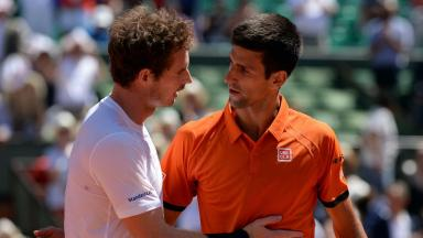 Duel: Tennis' top two have never been closer.