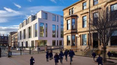 Saunders Centre: Glasgow Academy science building wins award.