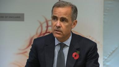 Mark Carney said it was 'early days in Brexit adjustment process'.