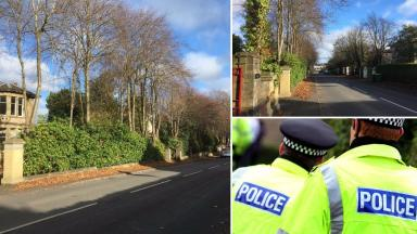 Murder probe: The man was attacked on Victoria Place.