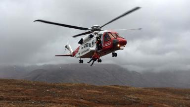 Bristow: One of 500 missions the firm has carried out since the handover.