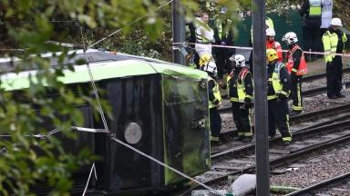 Seven people died after the tram overturned on Wednesday.