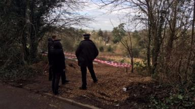 The three human feet were found inside a few hundred yards of each other