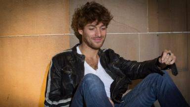 "Support: Paolo Nutini said he saw the ""romance"" of the town."