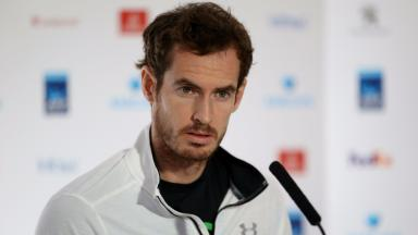 Andy Murray: World number one faces Marin Cilic in London.