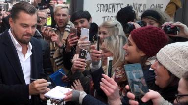 News Now: Leonard DiCaprio visit