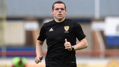 Douglas Ross: Earns £40,000 for his third job as a referee.