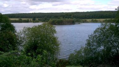 Loch: The remains were found at Peppermill Dam.