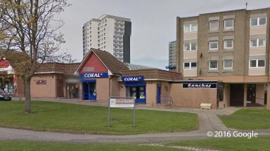 Incident: Alleged robbery took place at Coral in Cornhill Shopping Arcade.