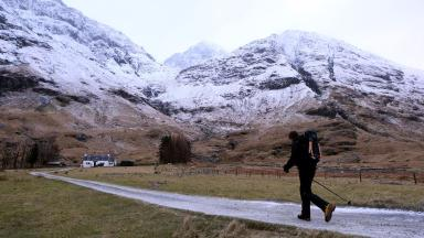Climbers: There were 205 avalanches in Scotland last winter (file pic).