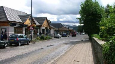 Grampian Road: The incident happened at a nightclub in Aviemore.