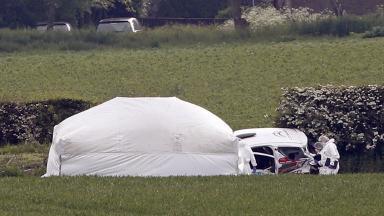 Jim Clark Rally: Scene of fatal collision in 2014.