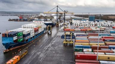 Grangemouth: Port enjoys boost from export of potato seeds (file pic).