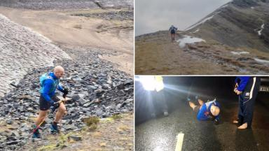 Donnie Campbell: Record-breaking Munro challenge.