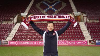 Ian Cathro: The 30-year-old is new Hearts head coach.