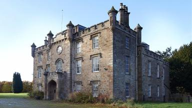 Teaninich Castle: Highland home up for sale.