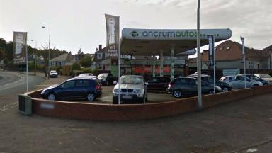 Ancrum Autos in Dundee, seven cars were stolen from the forecourt.