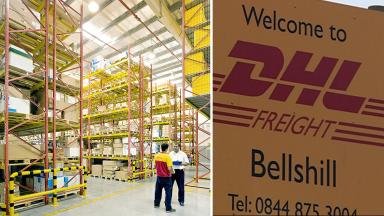 DHL Freight: Staff were informed of restructuring plans.