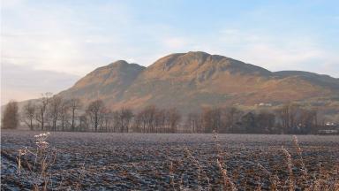 Dumyat hill: Peak is popular with walkers.