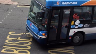 Stagecoach: Men sought over bus station raid (file pic).