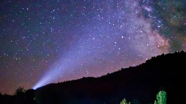 Aquarid meteor shower