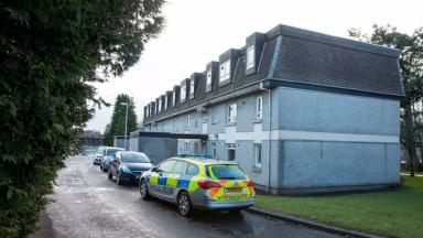 Police: Officers were called to the flat in Peterculter.
