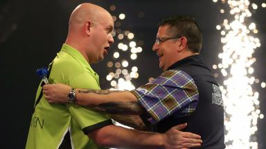 Champion: Michael Van Gerwen defeated the Scot in the final.