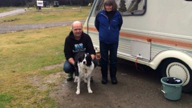 Rescue: The Elmers were saved by their bivvy bag.