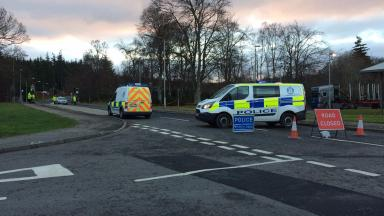 Inverness: Road closed while police carry out enquiries.