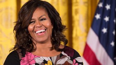 Michelle Obama at the White House, November 2016.