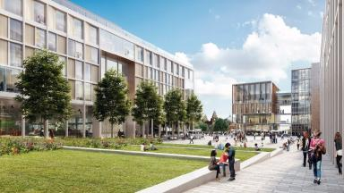 Proposals: Glasgow University receives planning permission in principle.