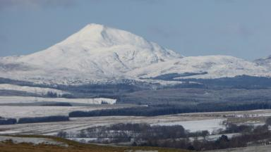 Ben Lomond: Four walkers got trapped by severe weather.