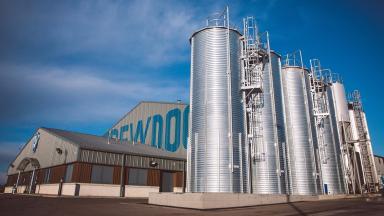 BrewDog brewery in Ellon, Aberdeenshire